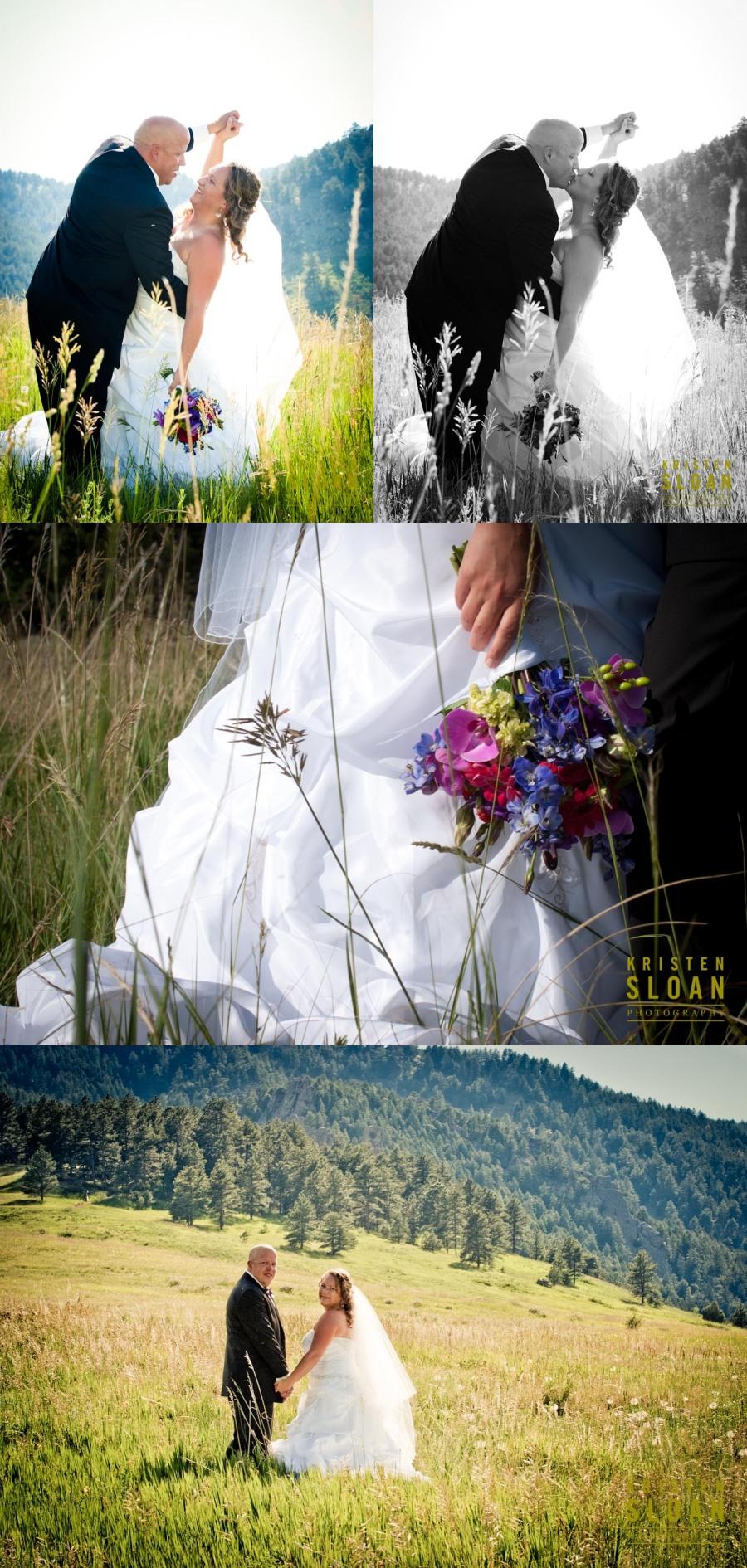 boulder colorado outdoor wedding