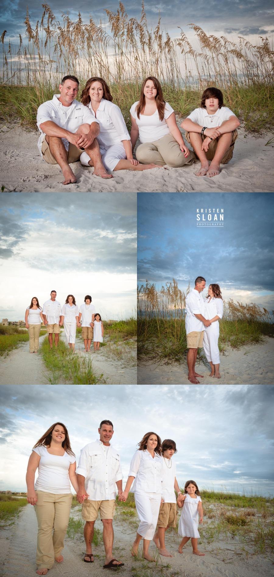 St Pete Beach Treasure Island FL Sunset Portraits