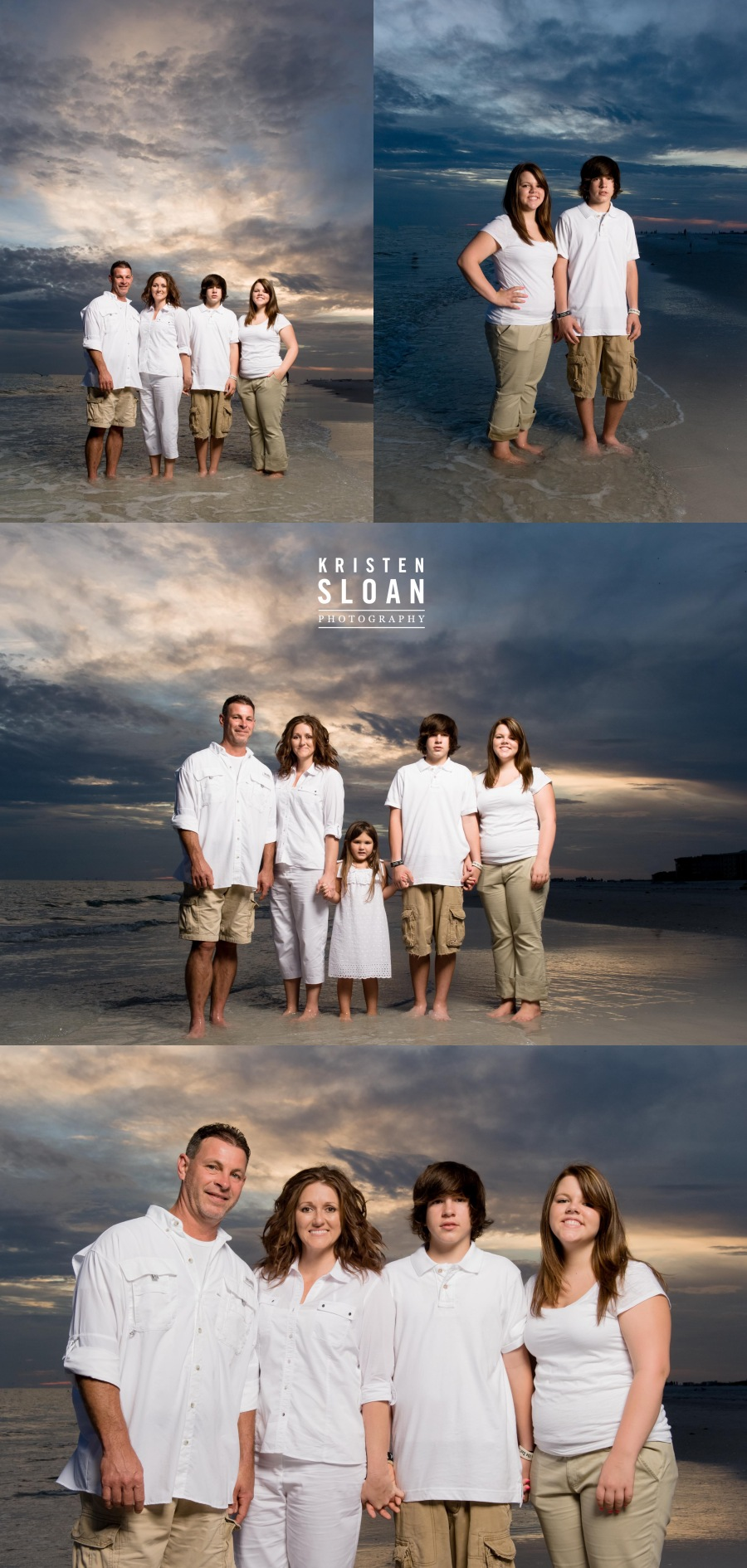 St Pete Beach Treasure Island FL Sunset Portraits