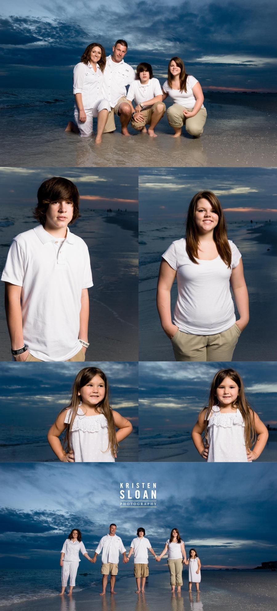 St Petersburg FL Beach Portraits