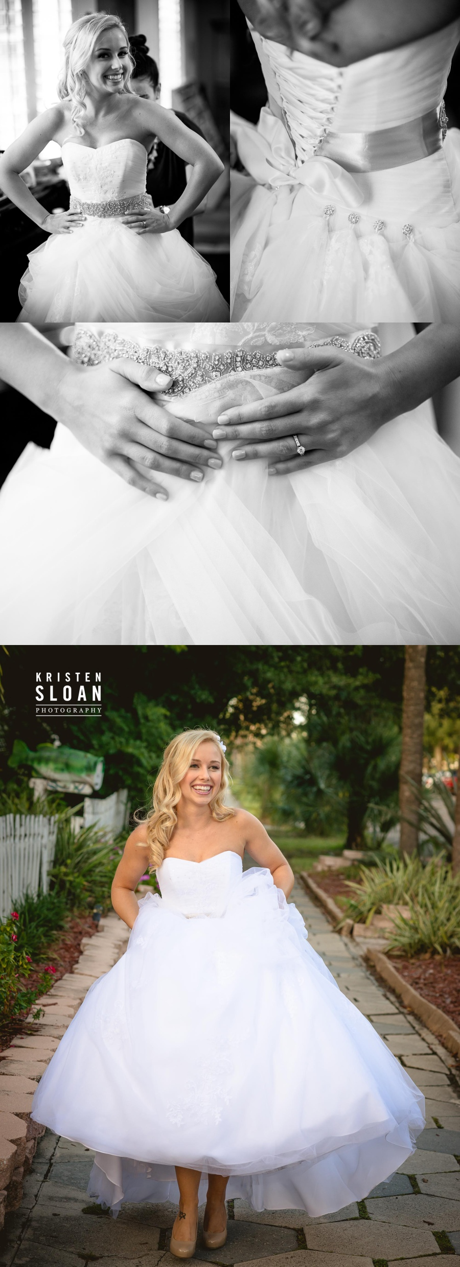 st pete bridal wedding photos straub park