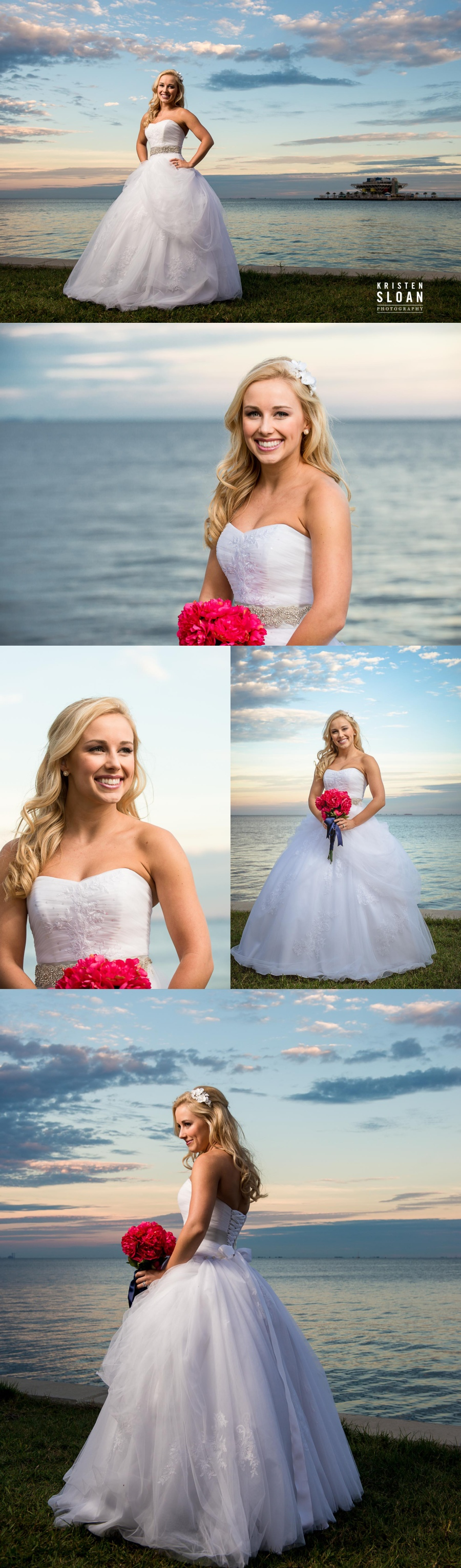 vinoy park bridal wedding photos portraits
