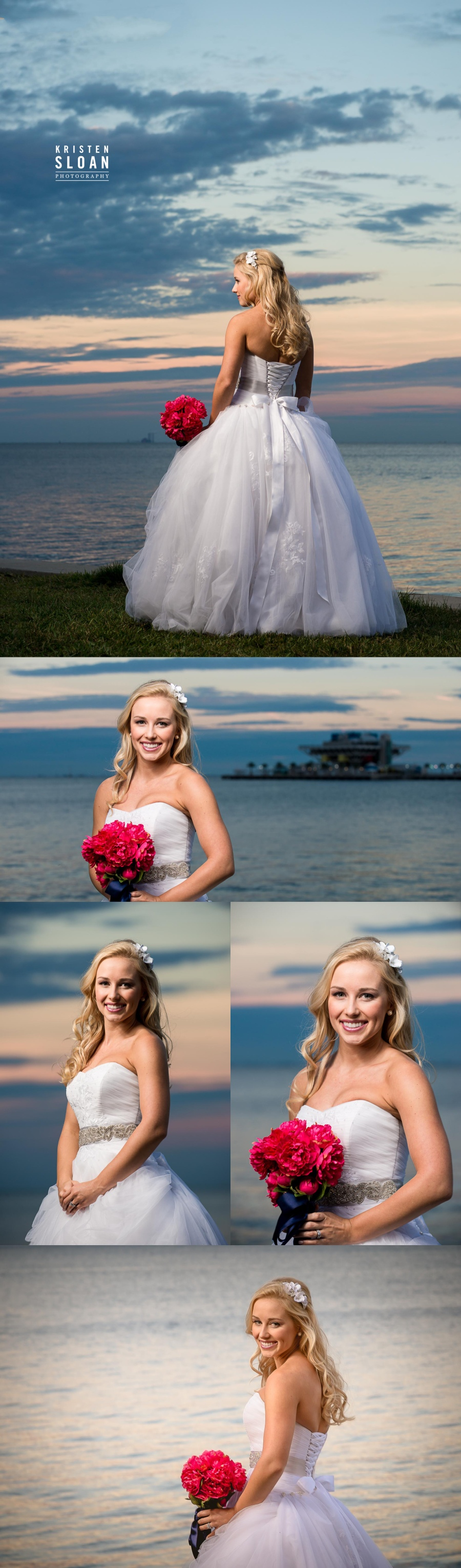 vinoy park st pete fl bridal wedding photos portraits