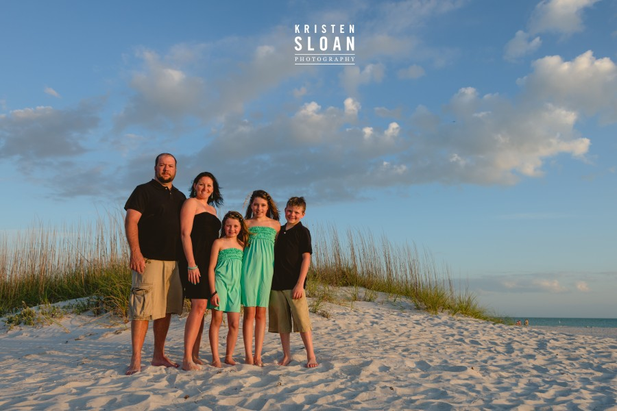 treasure island beach family portraits kristen sloan photo