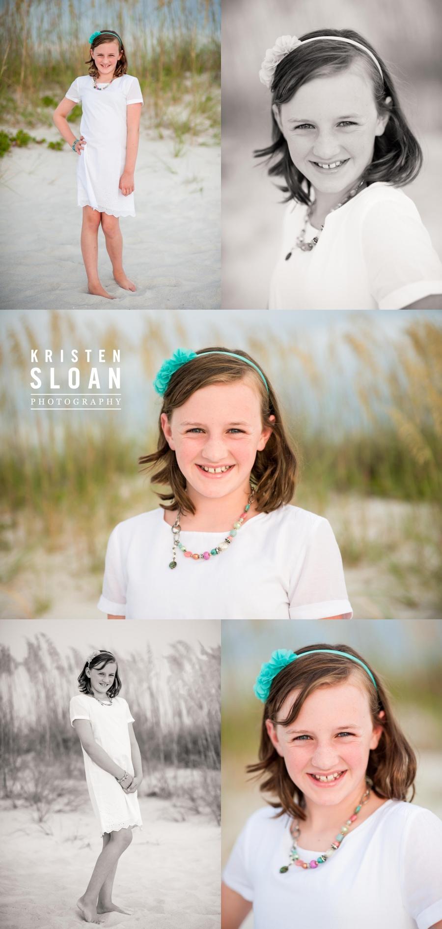 Sunset Vistas Treasure Island FL Family Beach Photos