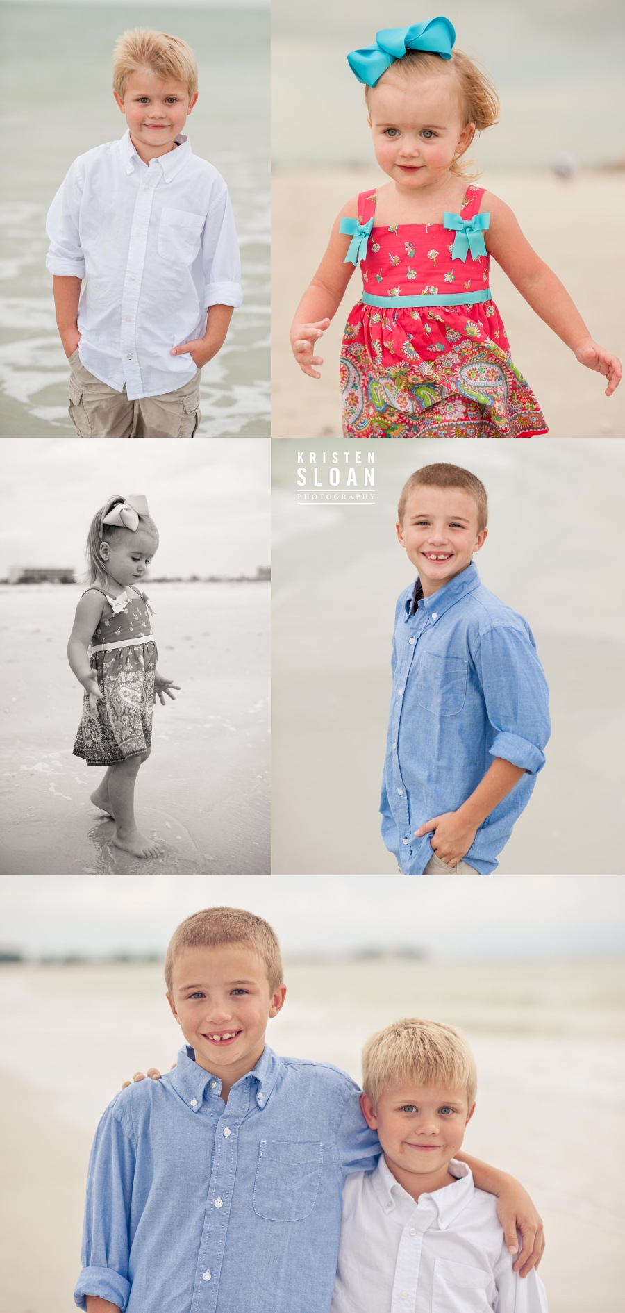 Bilmar Beach Resort Treasure Island Beach Portraits Photos by Kristen Sloan Photography