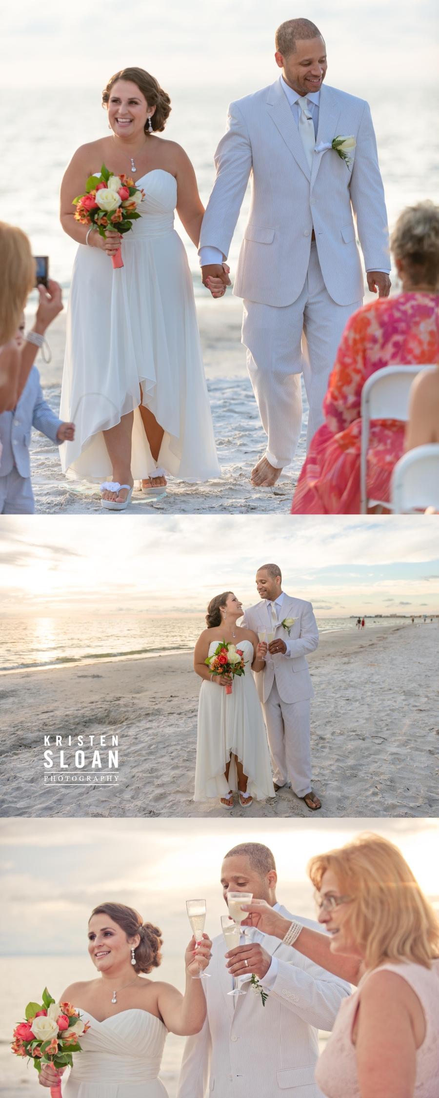 Sunset Vistas Treasure Island Florida Wedding Photographer