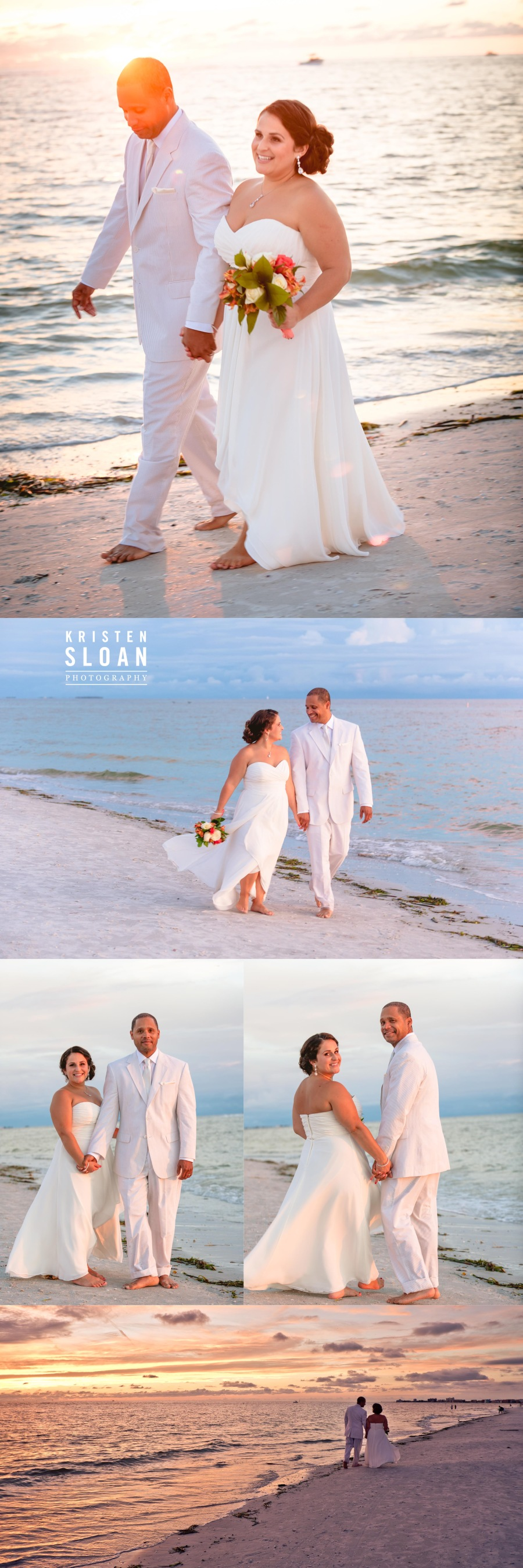 Sunset Vistas Treasure Island Florida Wedding Photographer