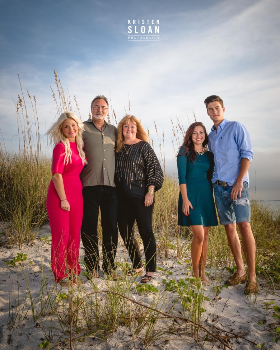 Sunset Beach Treasure Island Portrait Photographer | Treasure Island Wedding Photographer | St Pete Beach Family Portrait Wedding Photographer | Saint Petersburg FL Portrait Wedding Photographer