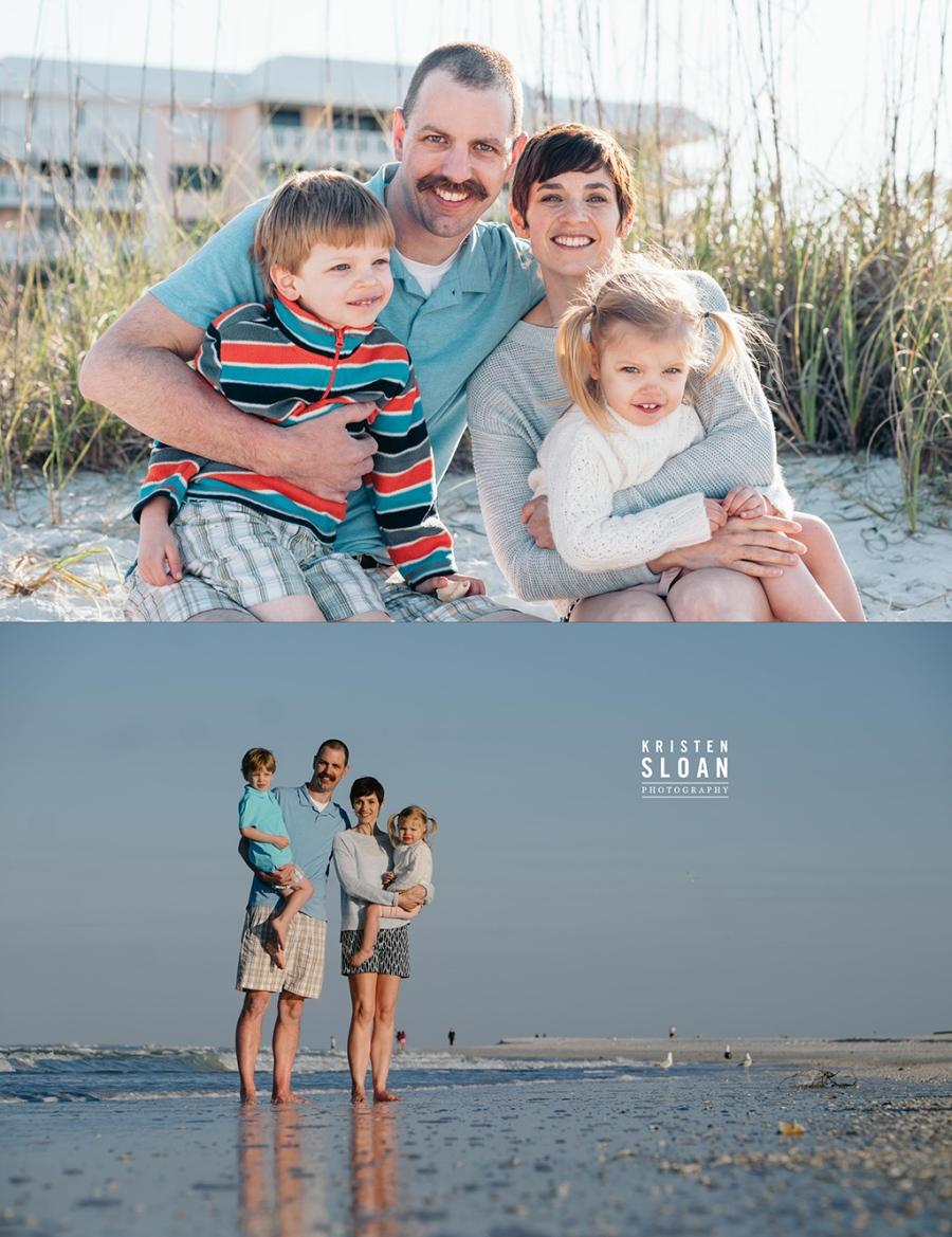 Postcard Inn St Pete Beach Family Morning Beach Portraits by Sai