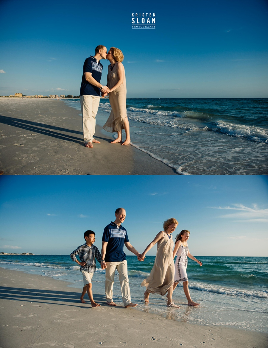 St Pete Beach Treasure Island Family Portraits by St Petersburg