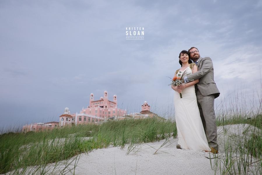 Don Cesar Beach Wedding | Don Cesar Wedding | Pass A Grille Beach Wedding Portriat Photographer | St Pete Beach Wedding Portrait Photographer