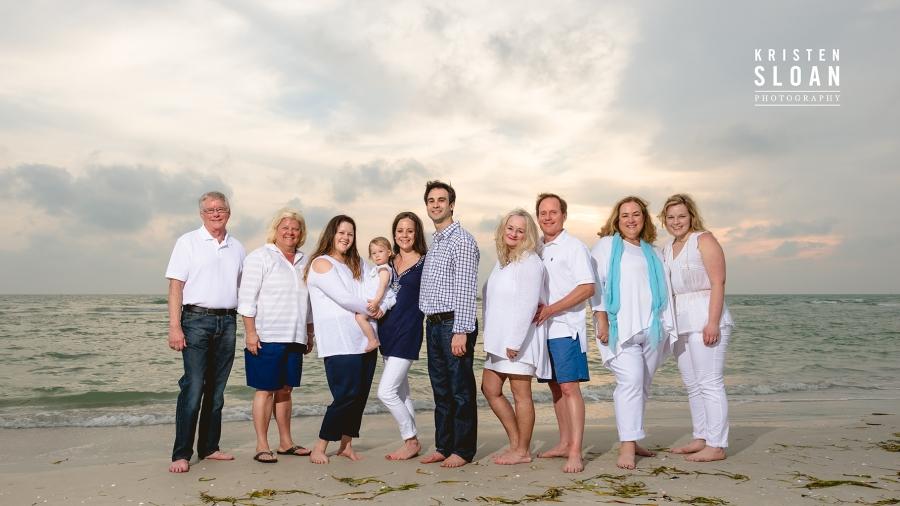 Residence Inn Treasure Island Family Beach Portrait Photos by St
