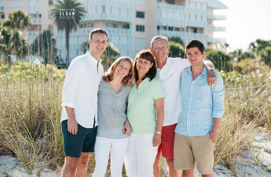 Silver Sands Condos Upham Beach St Pete Beach Family Portraits | St Pete Beach Wedding Portrait Photographer