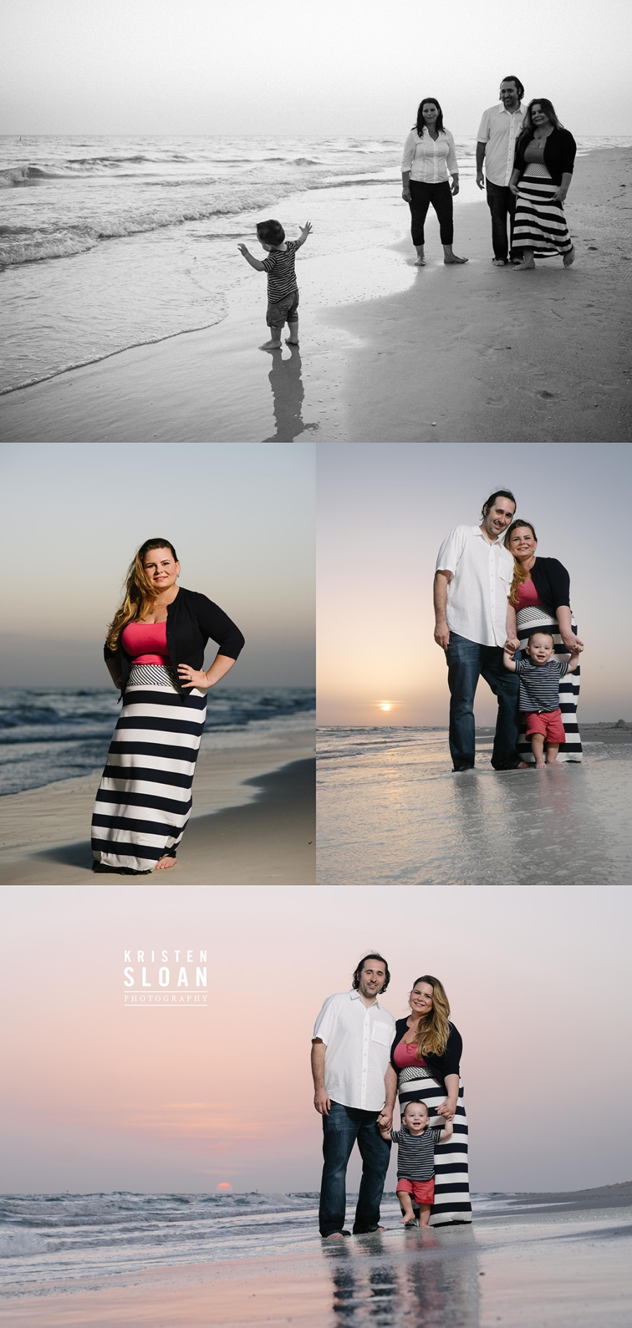 Treasure Island St Pete Beach Family Photos for Tradewinds Guests by Kristen Sloan Photography