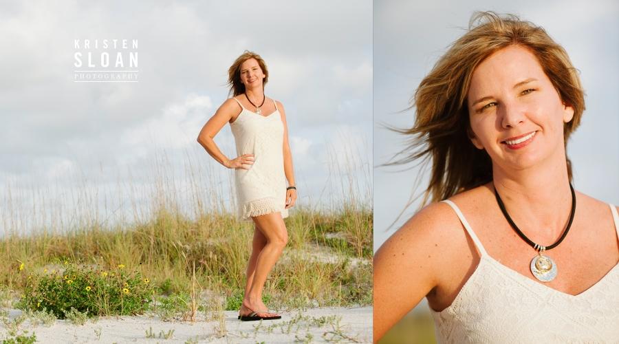 Treasure Island Wedding Portrait Photographer | St Pete Beach Wedding Portrait Photographer | What to wear to your Beach portrait session | Kristen Sloan Photography