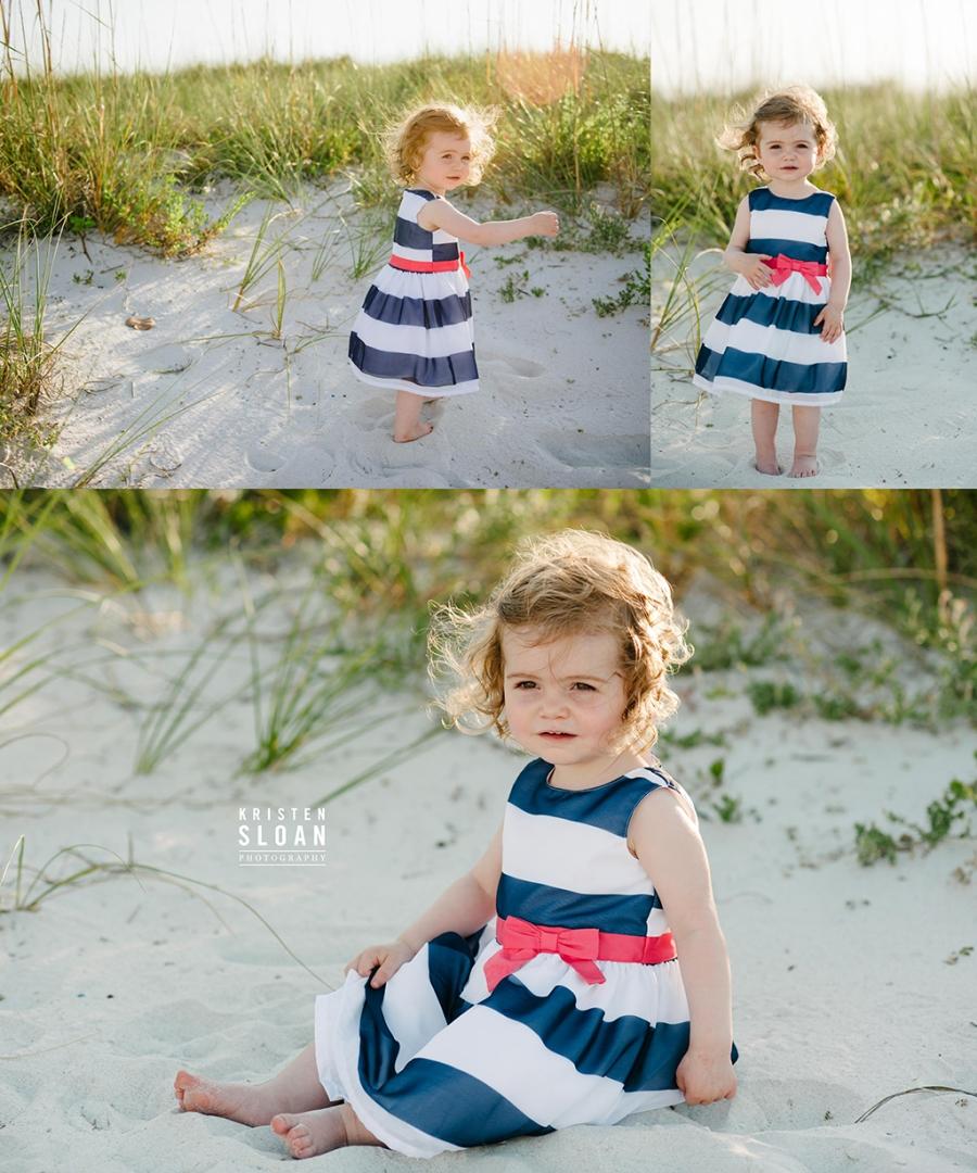 Sunset Vistas Treasure Island Family Beach Portrait Photos by Kristen Sloan Photography