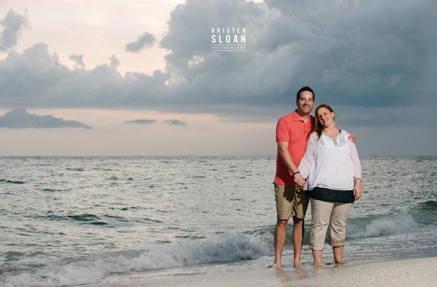 Treasure Island Beach Family Portraits after Rain