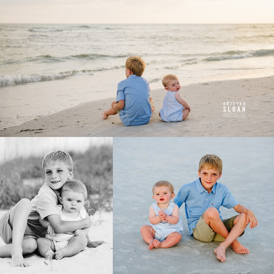 Treasure Island Beach Club | Treasure Island Florida Wedding Portrait Photographer |What to wear to your beach portrait session | Vineyard Vines Beach Family