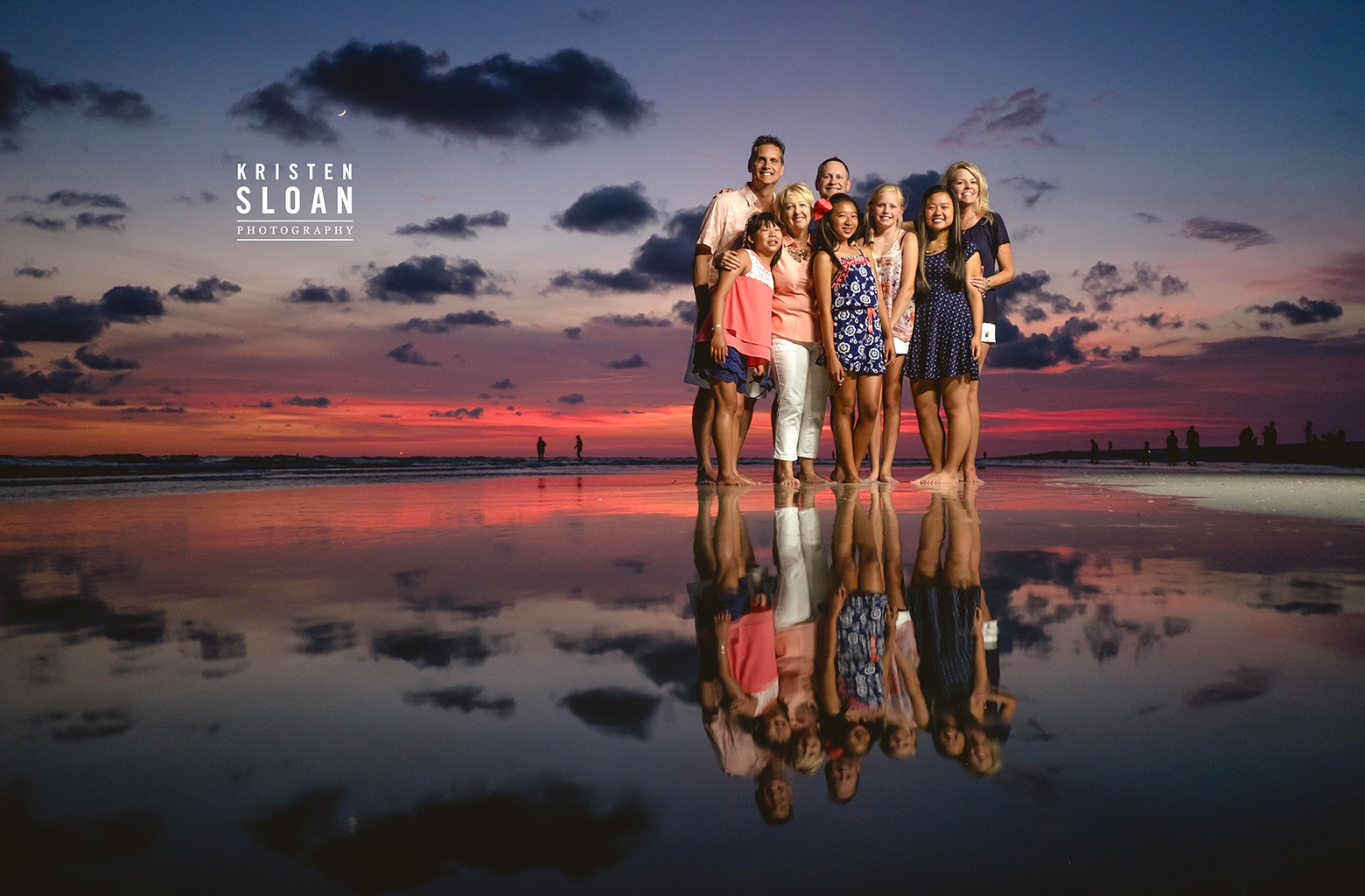 Treasure Island Family Beach Portraits by Photographer Kristen Sloan