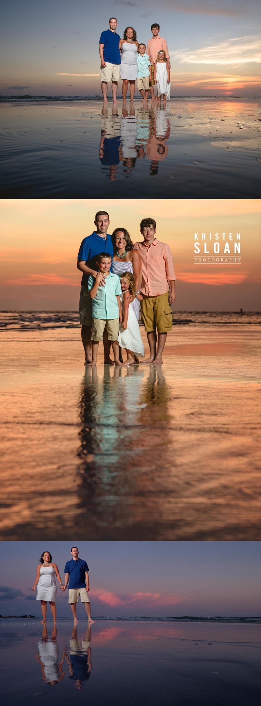 St Pete Beach Wedding Portrait Photographer |Sunset Vistas Family Beach Portraits | Sunset Vistas Treasure Island FL |Treasure Island Wedding Portrait Photographer Kristen Sloan