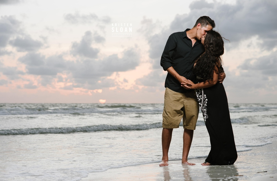 St Pete Beach Wedding Portrait Photographer Kristen Sloan | Tradewinds Family Beach Photos at Sunset  | Tradewinds Island Grand Resort Photographer