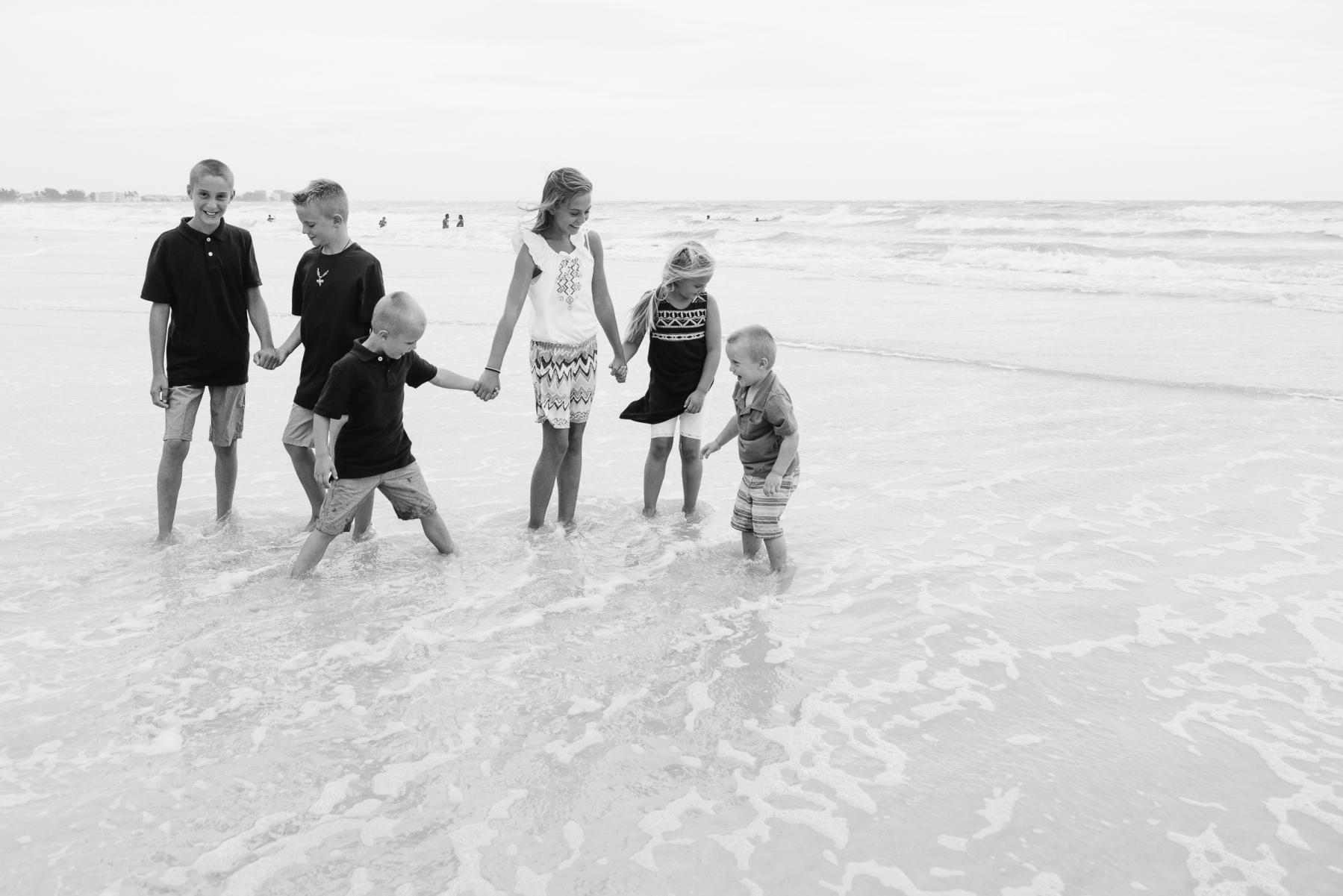 Sunset Vistas Beachfront Suites Family Portrait Photos Treasure Island