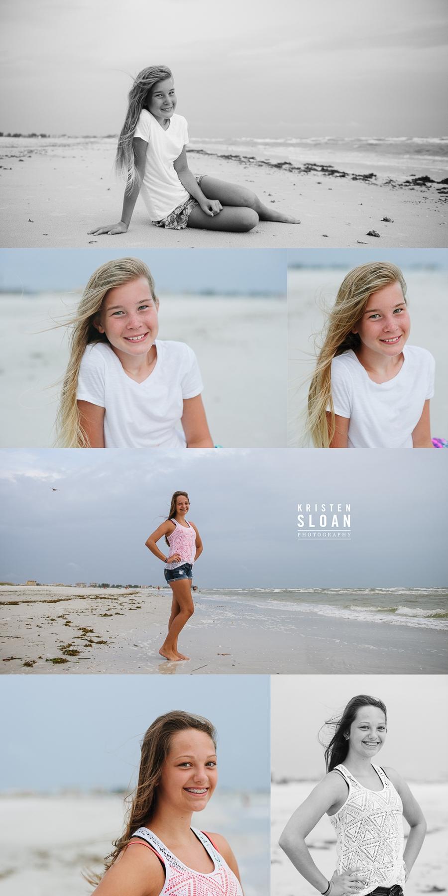 Treasure Island Beach FL Family Reunion Sunset Portraits by Kristen Sloan Photography