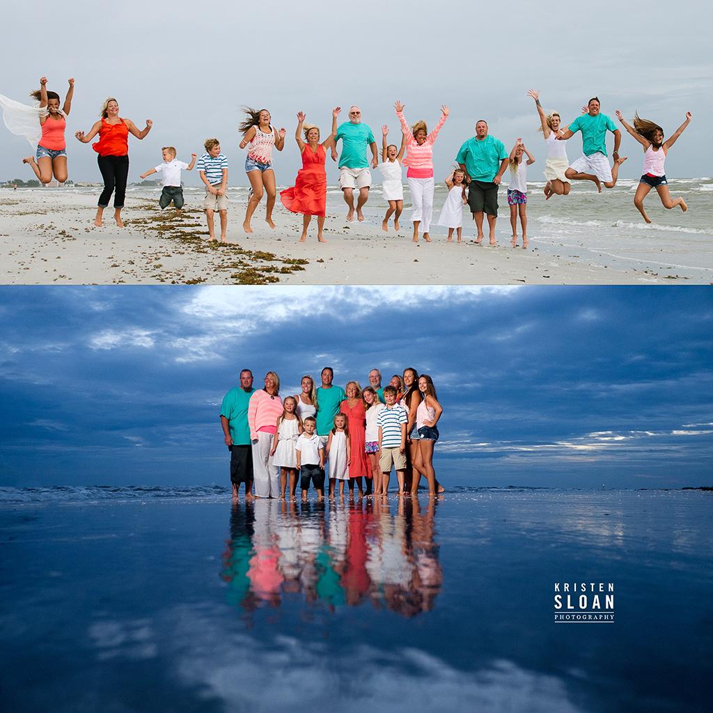 Treasure Island Beach: Treasure Island Florida Family Reunion Beach Portraits At