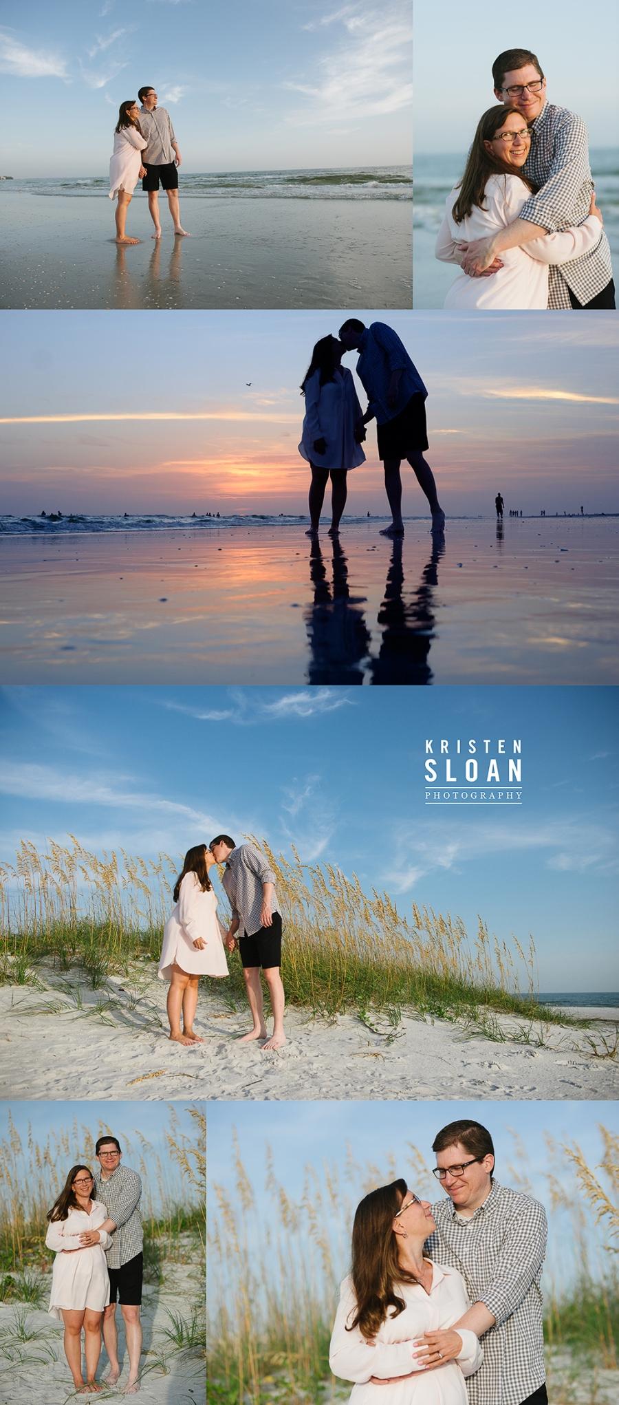 St Pete Beach FL Family Portrait Photos By Kristen Sloan Photography
