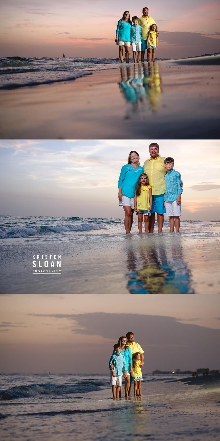 St Pete Beach Treasure Island Photographer Kristen Sloan | Sunset in Treasure Island