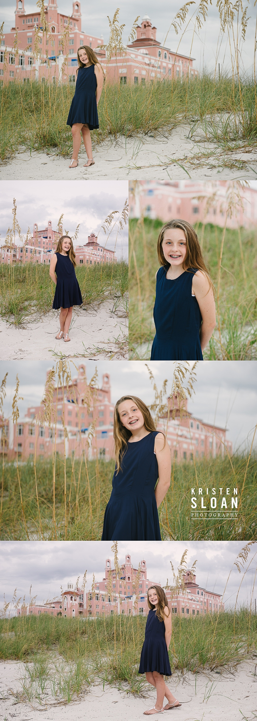 Don Cesar Hotel Kids Beach Portraits