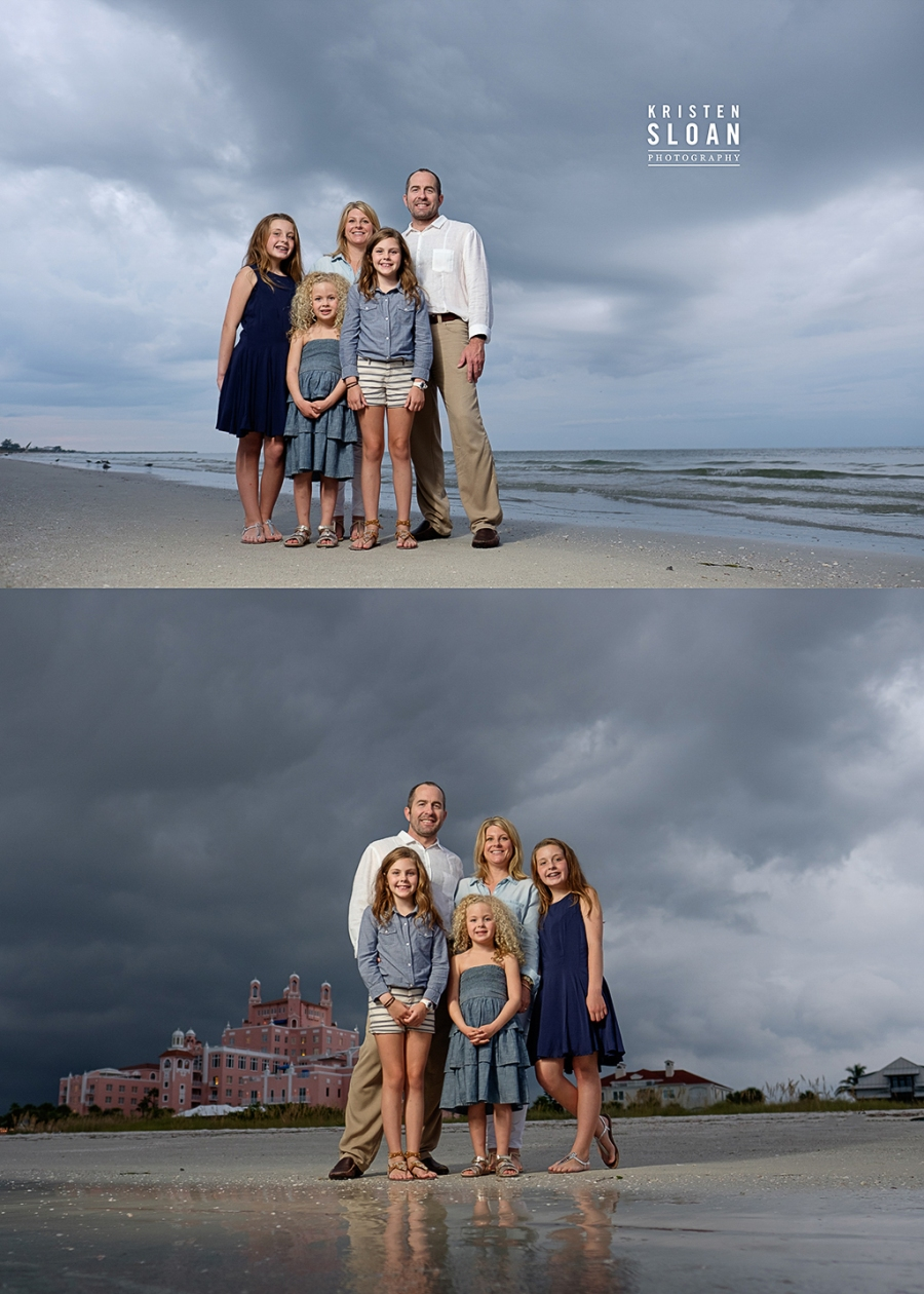 Family Beach Photos Don Cesar Hotel St Pete Beach