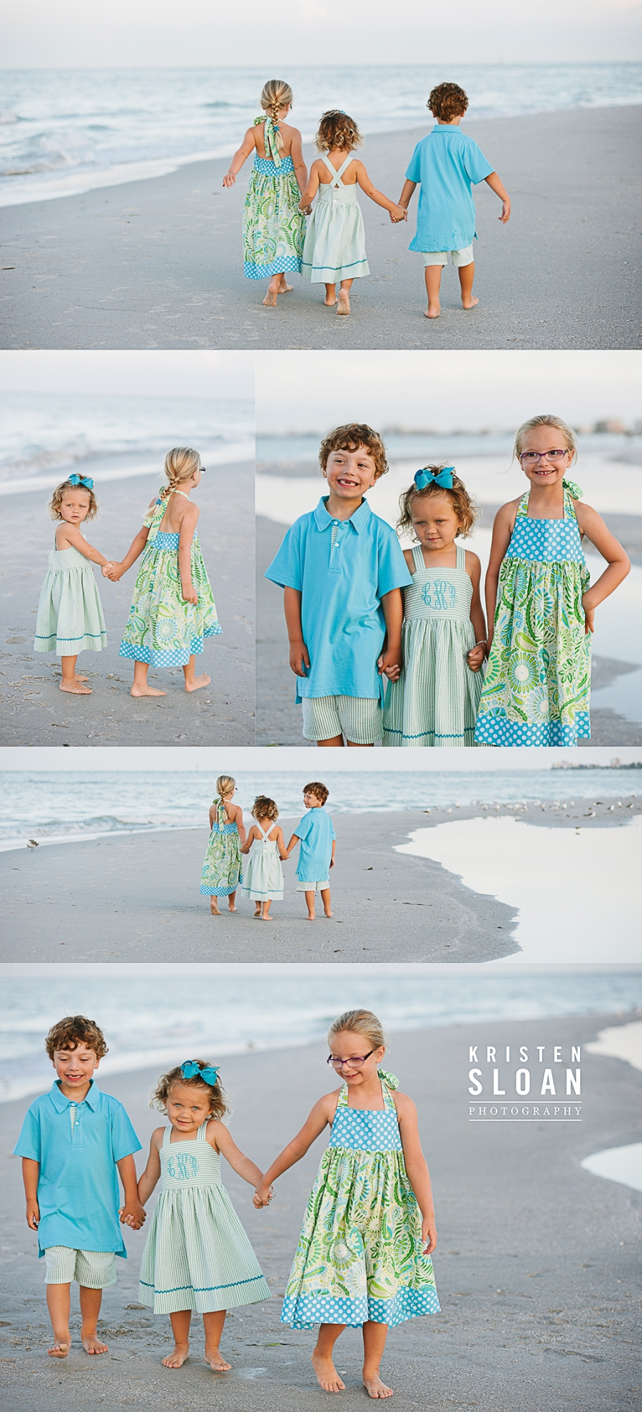 Sunset Vistas Treasure Island Morning Family Beach Portraits | Treasure Island Florida Photographer | St Pete Beach FL Photographer, Kids Beach Portraits Florida |Pass A Grille Beach FL Photographer