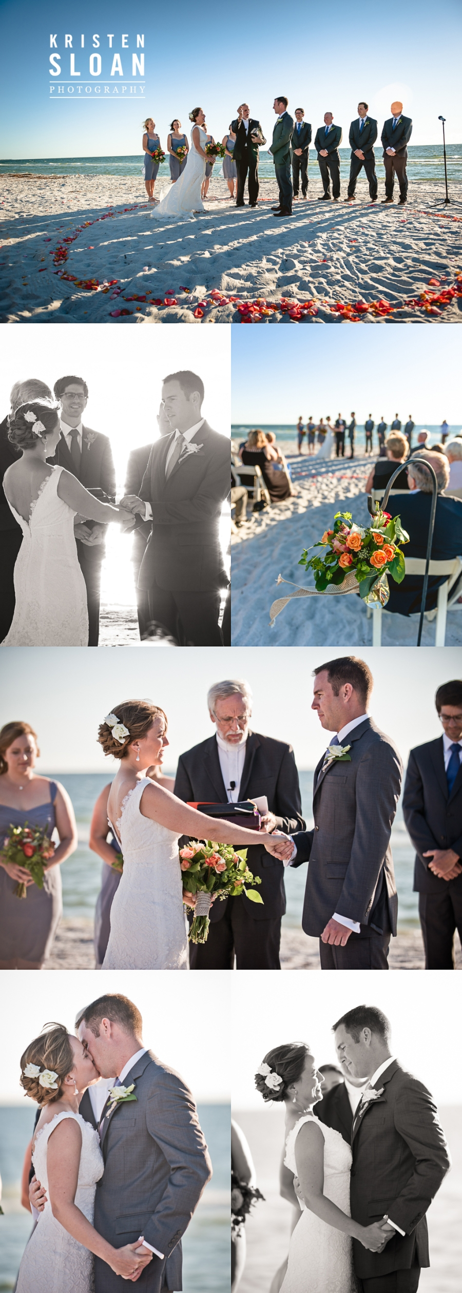 Boca Grande Club Gasparilla Island Florida Wedding | Sarasota FL Wedding Photographer | St Pete Beach Weddings | Beach Wedding Decor | Gulf Coast Florida Beach Wedding Ceremony