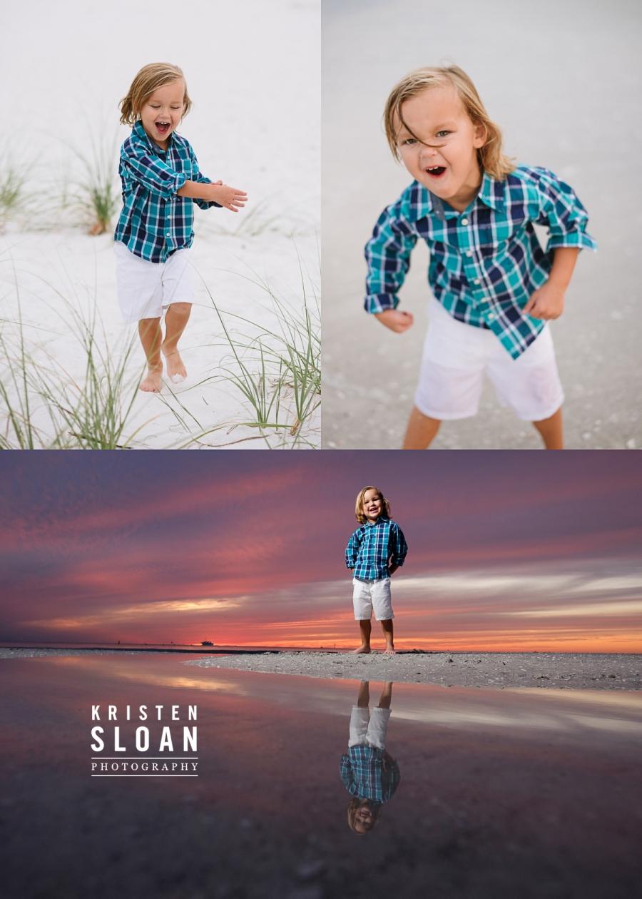Sand Pebble Resort Condos Treasure Island Beach Family Portrait