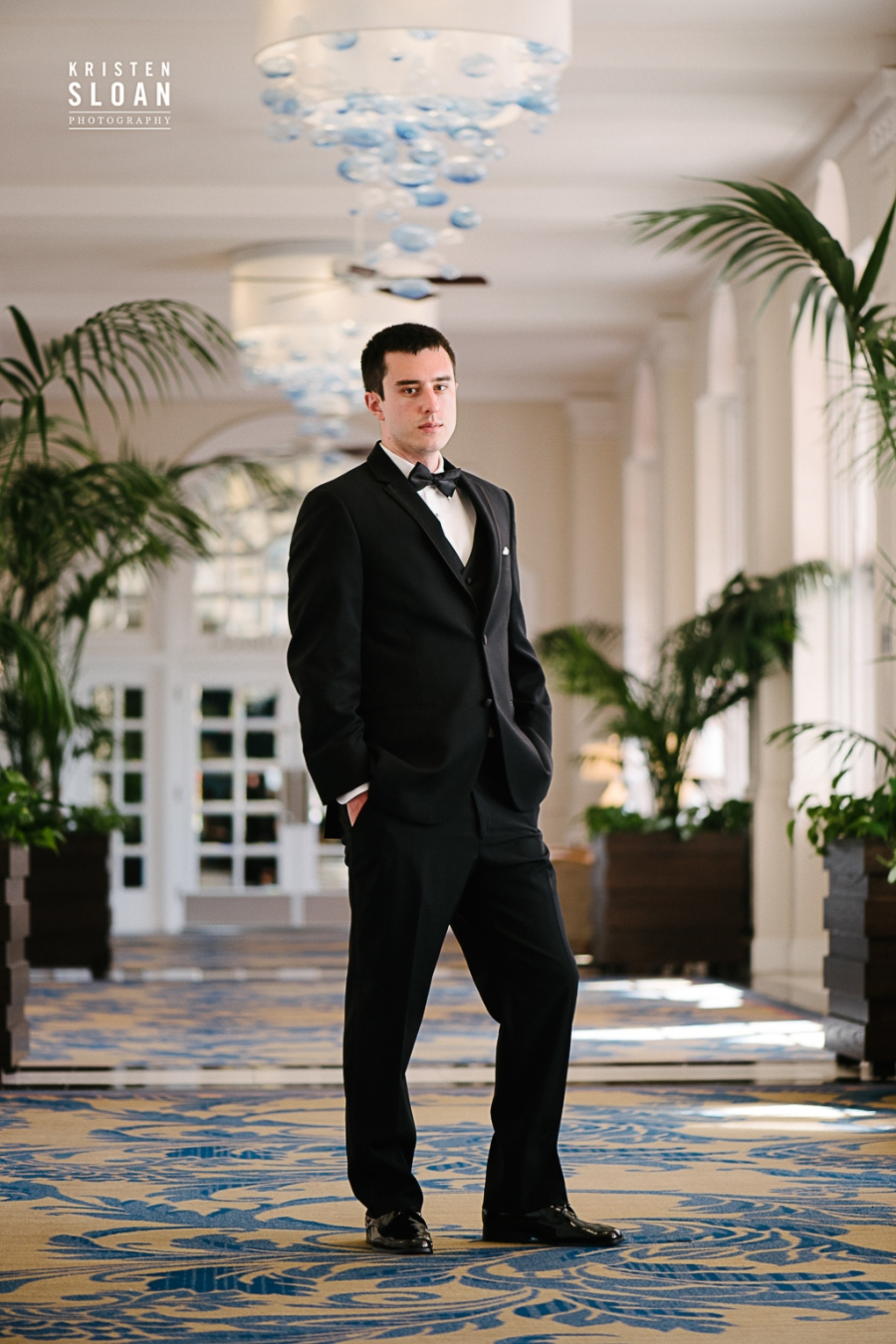 Groom Portraits Don Cesar Hotel Wedding