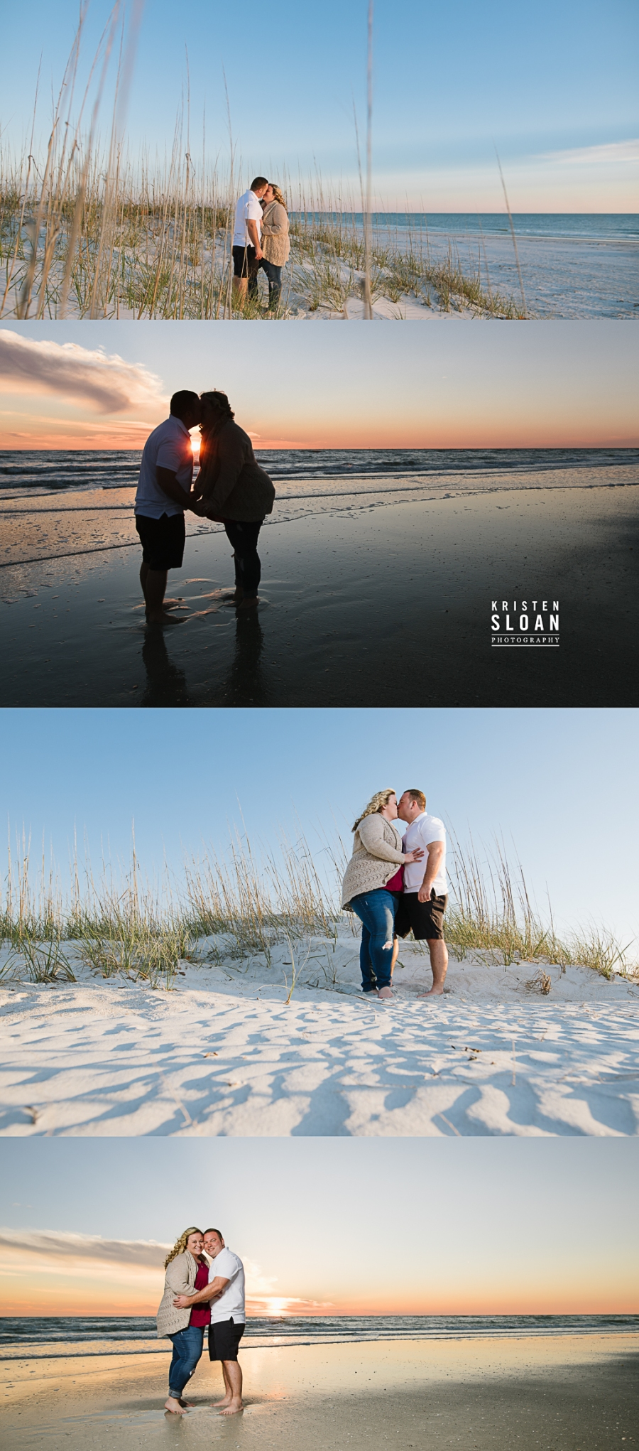 Surprise Beach Wedding Proposal | St Pete FL Wedding, Treasure Island Florida Wedding Photographer | St Pete Beach Florida Wedding Photographer Kristen Sloan