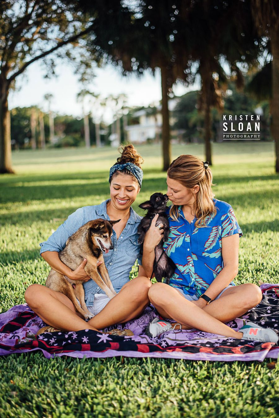Lassing Park St Pete Florida Couples Pet Portraits, LGBT Couples Engagement, LoveisLove, St Petersburg Florida Portrait Wedding Photographer, GayLove,