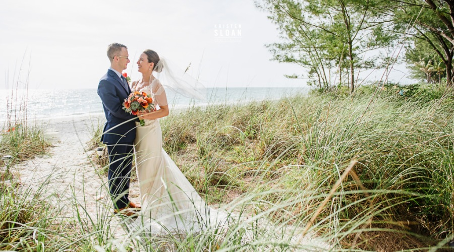 Sunset Beach Treasure Island Wedding